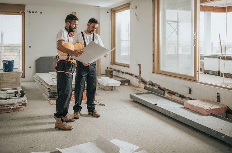 Mitarbeiter Fachbetrieb Gebäudetechnik